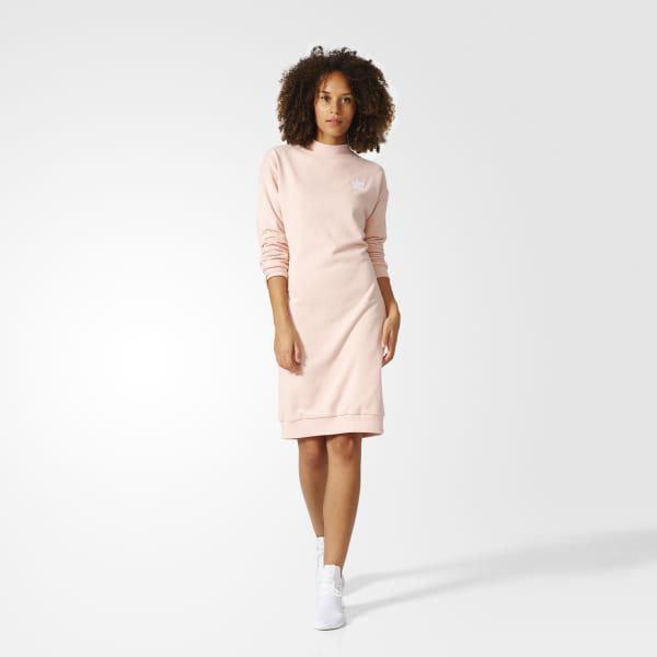 87833131499 adidas Pastel Camo Crew Dress - Pink | adidas Canada