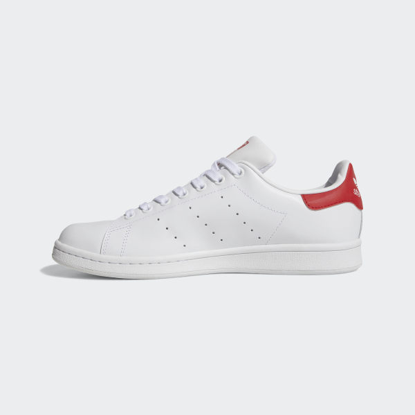 newest bec65 bda8f Stan Smith Shoes Cloud White   Cloud White   Collegiate Red M20326