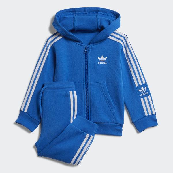 Ensemble New Icon Hoodie Bleu adidas | adidas France