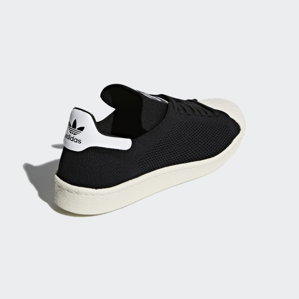 Adidas Superstar 80's Primeknit Herren Sneaker Schwarz, core
