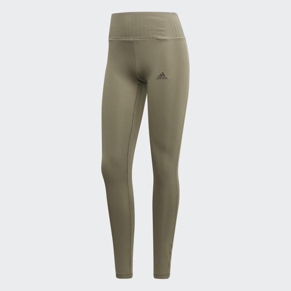 be92d7c19f6fb adidas Ultimate Climalite Long Tights - Green   adidas US