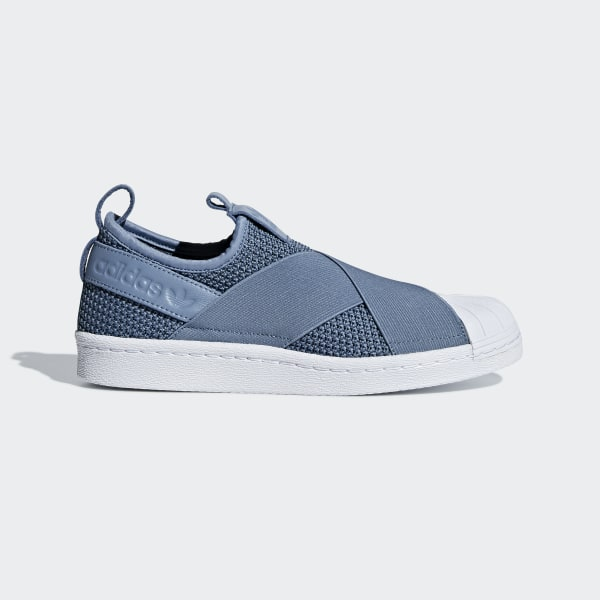 quality design 34e9a d5a45 adidas Superstar Slip-on Shoes - Blue | adidas US