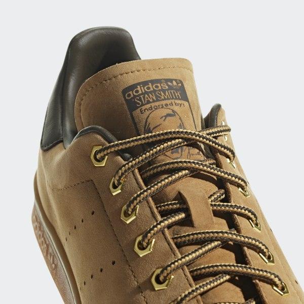 pretty nice e4f12 3a548 adidas Stan Smith WP Shoes - Brown | adidas US