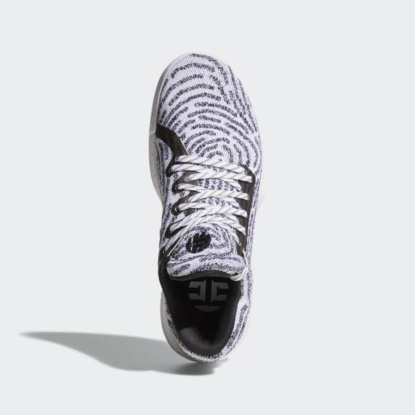 c15c7491b68f Harden Vol. 1 LS Primeknit Shoes Grey   Ftwr White   Core Black   Grey