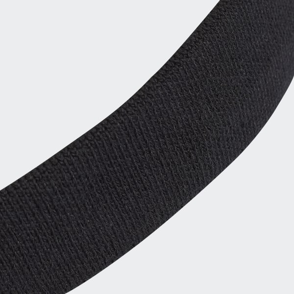 f494fe7c66b1f9 Tennis Headband Black   White CF6926