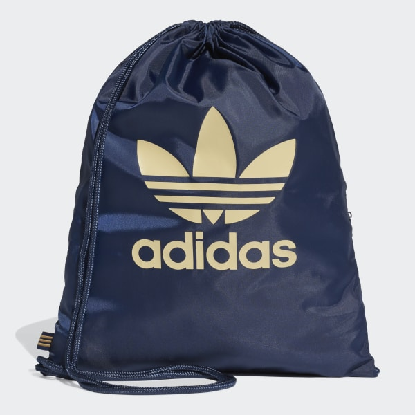 adidas Trefoil Gym Sack - Blue | adidas Switzerland
