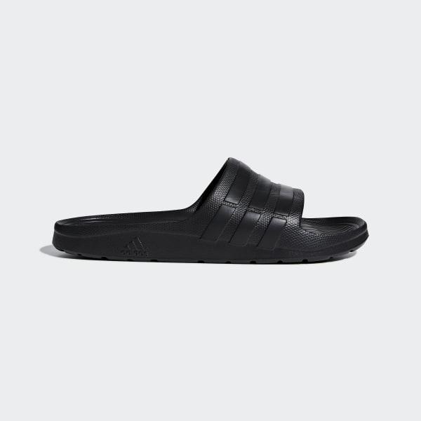 premium selection 1a820 10d67 adidas Duramo Slides - Black   adidas Canada