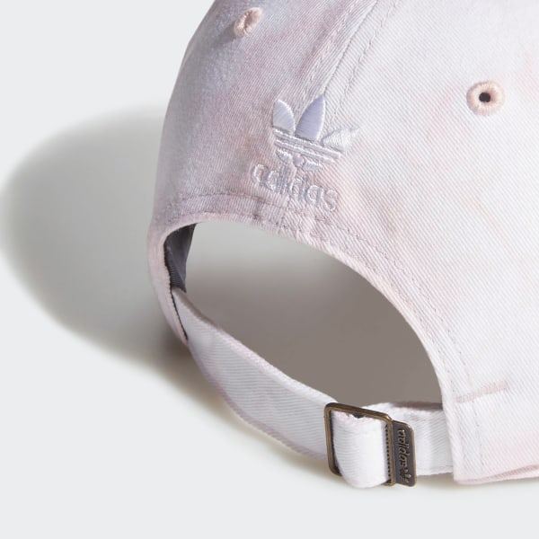 99c3a1dd9 adidas Relaxed Tie-Dye Strap-Back Hat - Pink   adidas US