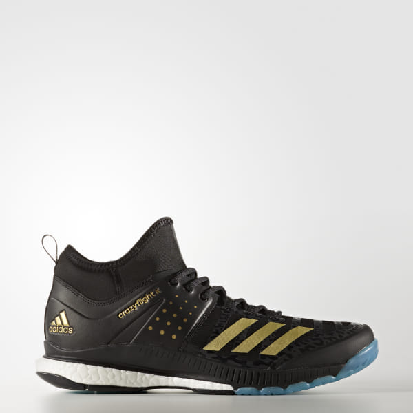 7f60c78287b adidas Crazyflight X Mid Shoes - Black | adidas US
