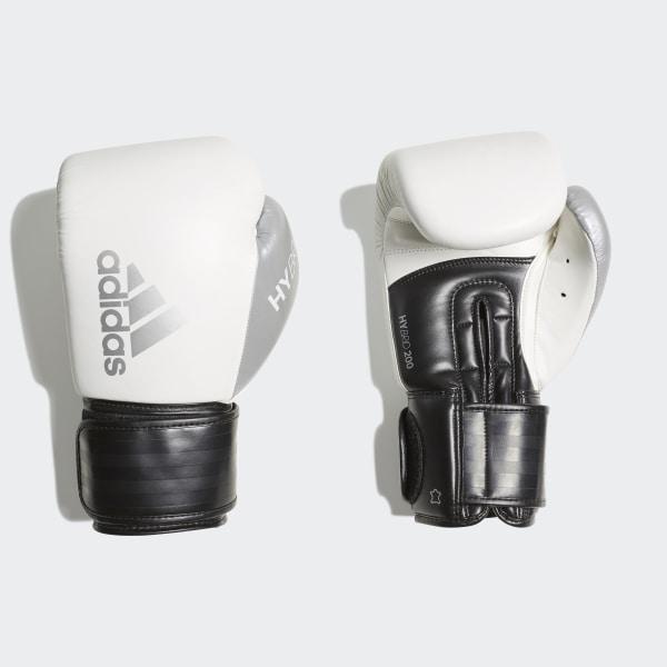 adidas Hybrid 200 Boxing Gloves - White | adidas UK