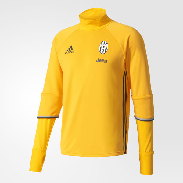 98589d9e8d8 Juventus Training Top Collegiate Gold   Grey   Charcoal Solid Grey AI7009