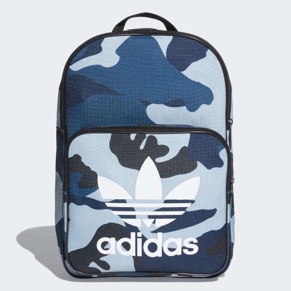 c37d767e3d0 adidas Classic Camouflage Rugzak - blauw   adidas Officiële Shop