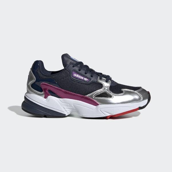official photos efc2b ef538 Falcon Shoes Collegiate Navy   Collegiate Navy   Silver Metallic CG6213