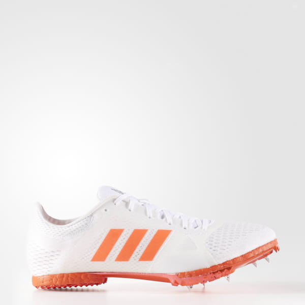 59ee8940946f adizero Middle-Distance Shoes Cloud White / Solar Red / Silver Metallic  AF5649