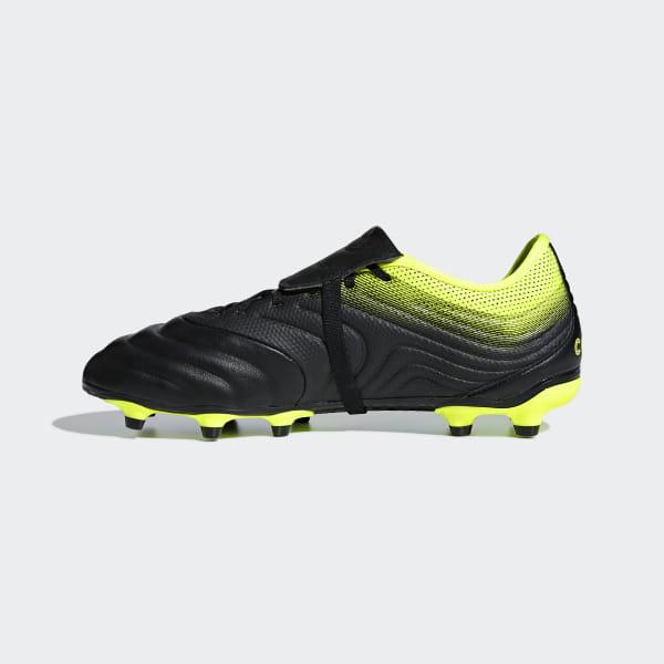 b9eacad77c63 Copa Gloro 19.2 Firm Ground Boots Core Black / Core Black / Solar Yellow  BB8089