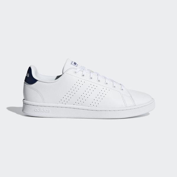 wholesale dealer f3de6 f7c72 Chaussure Advantage Ftwr White   Ftwr White   Dark Blue F36423