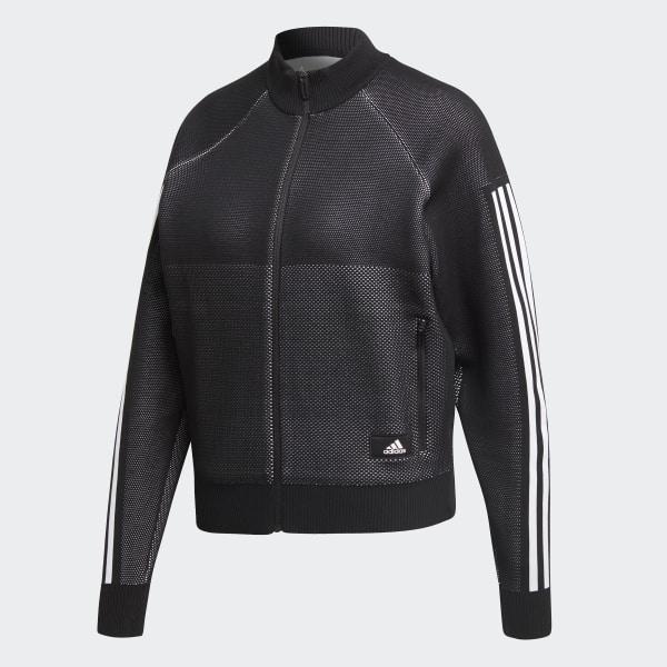 892fdfe6 adidas ID Knit Track Jacket - Black | adidas US