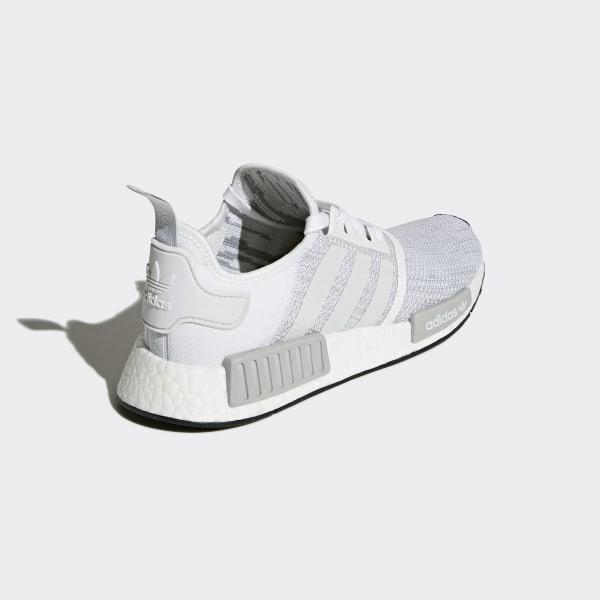 new concept a172b 82b67 adidas NMD_R1 Shoes - White | adidas US