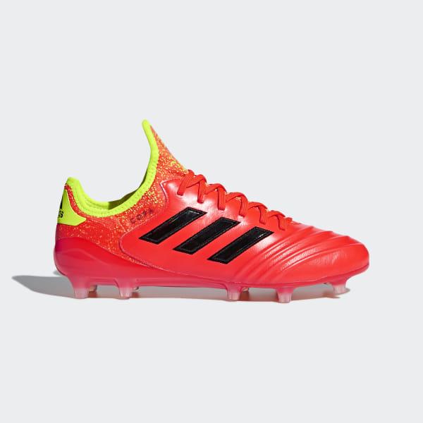 designer fashion 13108 e5326 Copa 18.1 Firm Ground Boots Solar Red / Core Black / Solar Yellow DB2169