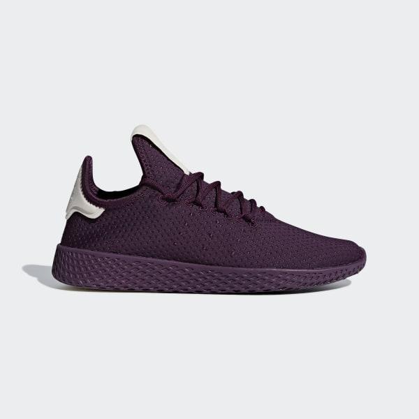 acheter populaire 1879b fb476 adidas Pharrell Williams Tennis Hu Shoes - Purple   adidas UK
