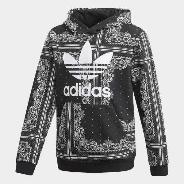 b8364f98a4 adidas Bandana Hoodie - schwarz   adidas Austria