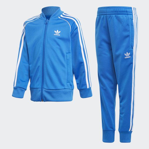 adidas Trefoil SST Trainingsanzug - Blau | adidas Austria