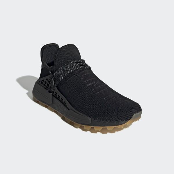 on sale f0cd7 d8af0 adidas Pharrell Williams Hu NMD Proud Shoes - Black | adidas UK