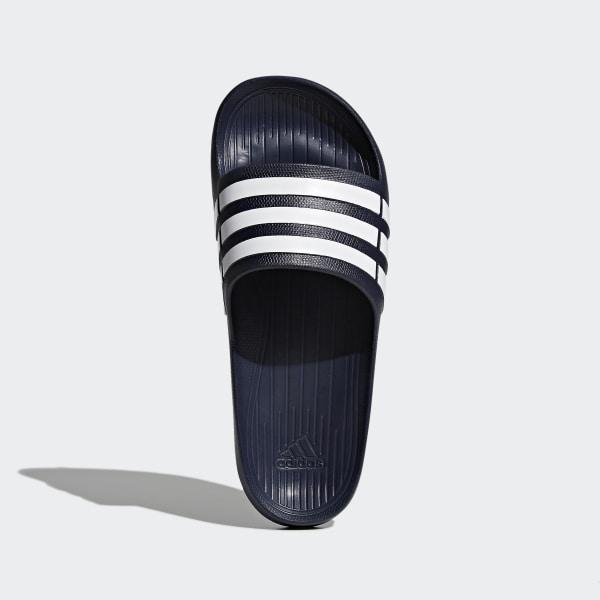 441b46e1467 Duramo Slip-in sko Dark Blue / White / Dark Blue G15892