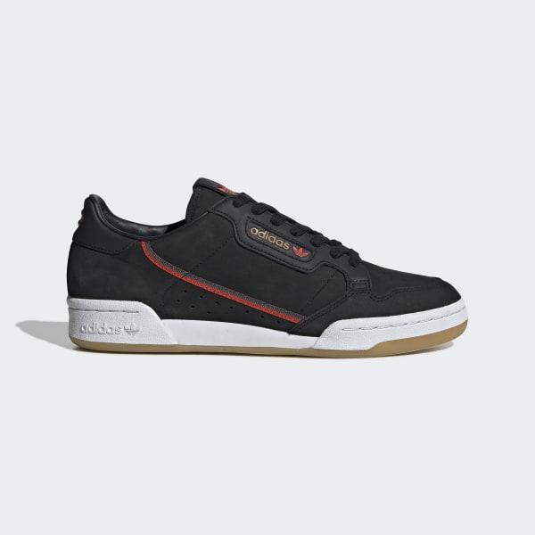 adidas Originals x TfL Continental 80 Shoes - Black | adidas Switzerland