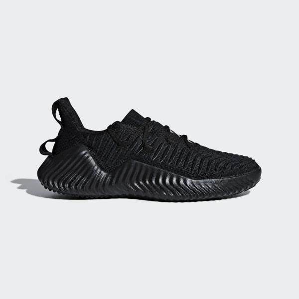 fcb8f6aac6f Alphabounce Trainer Shoes Core Black / Core Black / Silver Metallic AQ0609