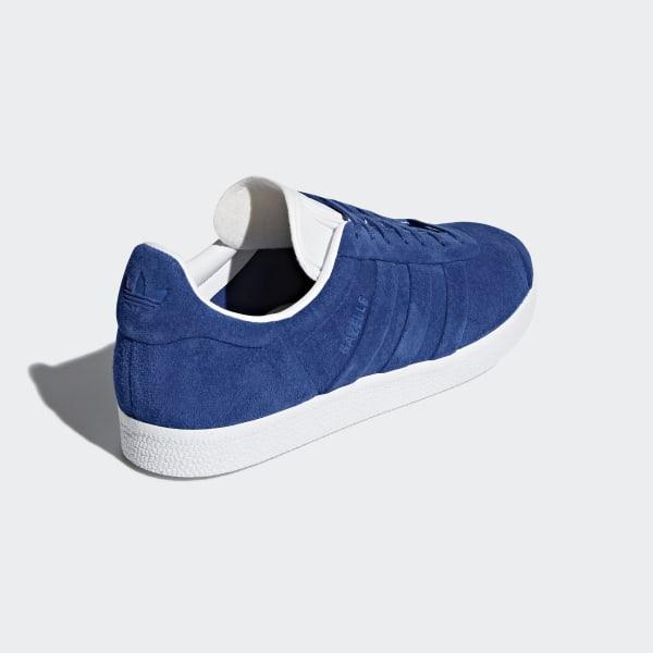 Neuer Frühling von 2018 adidas Manner Weiß Gazelle Stitch
