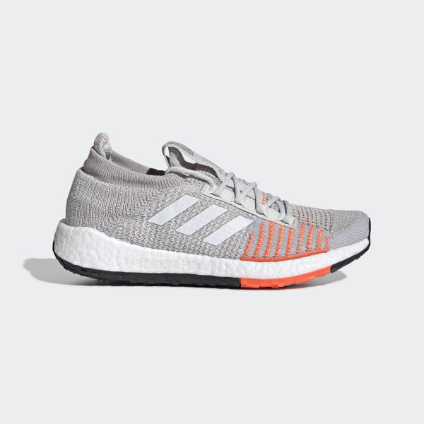 a1c83aa7 Pulseboost HD Shoes Grey One / Cloud White / Hi-Res Coral FU7342
