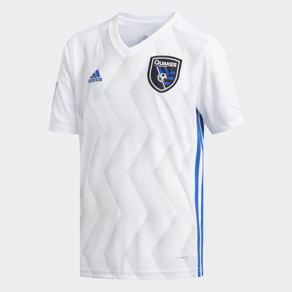 detailing 592d9 6828a adidas San Jose Earthquakes Away Replica Jersey - White | adidas US