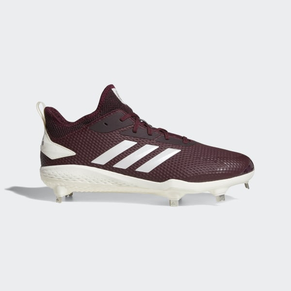 cb3b8d798b90 Adizero Afterburner V Cleats Maroon / Running White / Core Black CG5214