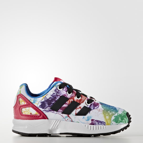 outlet store b3dc7 184ae adidas ZX Flux Shoes - White | adidas Australia