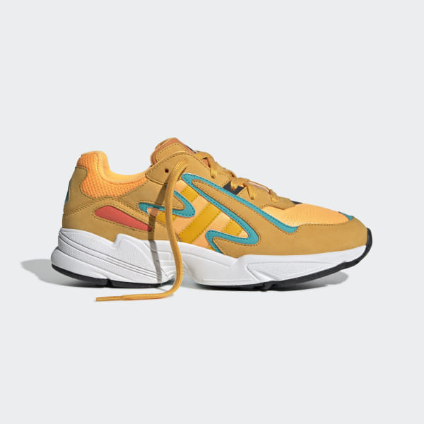 Yung-96 Chasm Shoes Flash Orange / Active Gold / Hi-Res Aqua EE7228