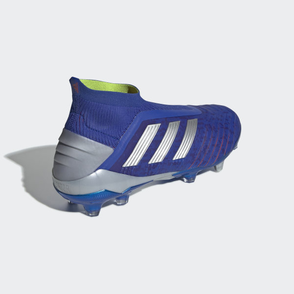 045deb95a Predator 19+ Firm Ground Boots Bold Blue / Silver Metallic / Active Red  BB9087