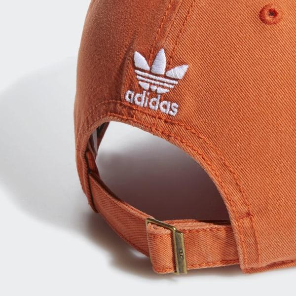 e986c68f84e52 adidas Relaxed Strapback Cap - Orange | adidas US
