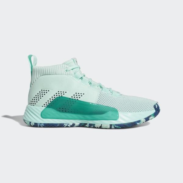 d2c7d2e036 adidas Dame 5 Shoes - Turquoise | adidas US