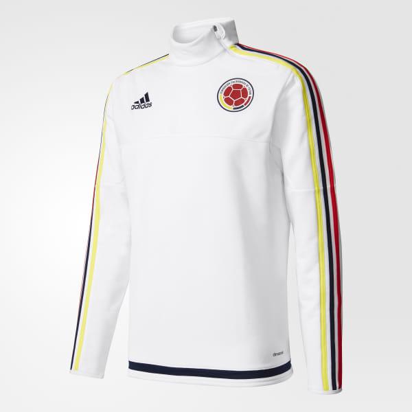 bd023835a69 adidas Camiseta de Entrenamiento Selección Colombia - Blanco | adidas  Colombia