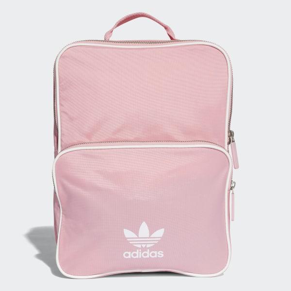 73f1b962b7f adidas Classic Backpack Medium - Pink   adidas UK
