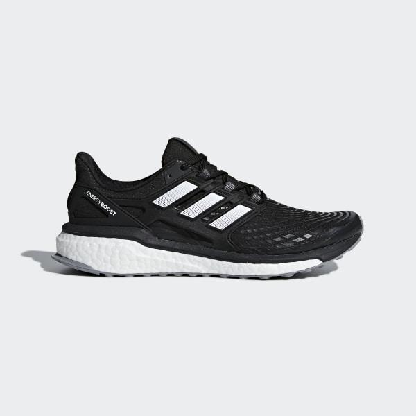 brand new 3d227 27fa7 Energy Boost Shoes Core Black   Ftwr White   Grey Three AQ0014