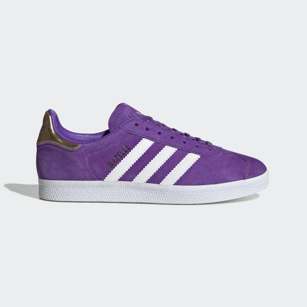 a8a6898985b9d Originals x TfL Gazelle Schuh Collegiate Purple / Ftwr White / Gold Met.  EE8109