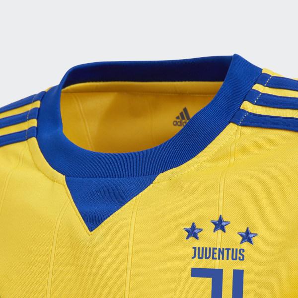 dea344e3d Juventus Away Jersey Bold Gold   Collegiate Royal AZ8690