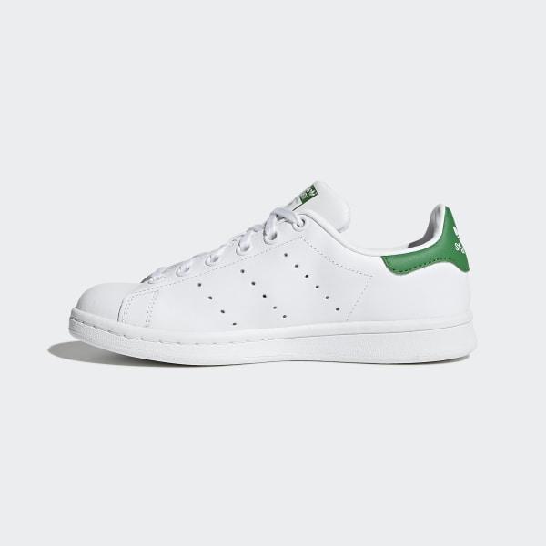 adidas baskets femme stan smith b32703 footwear white bold pink