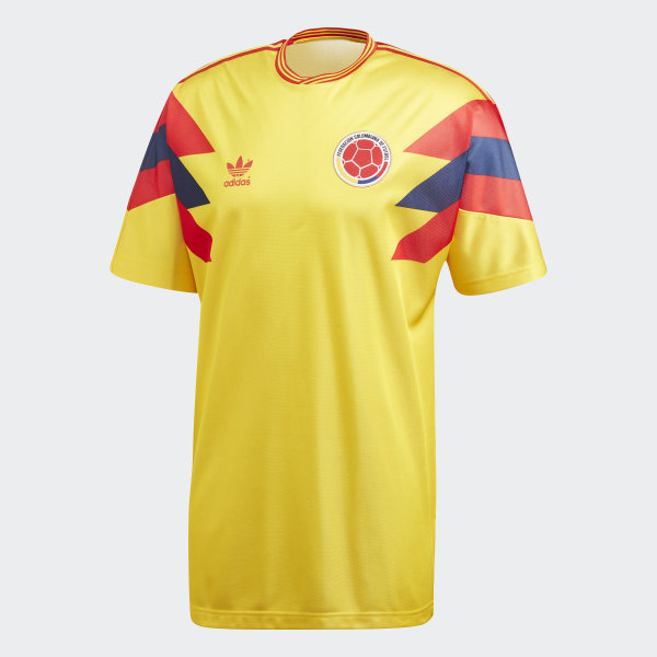 bc6a494c22a Colombia 1990 World Cup Jersey Purple Yellow CE2338