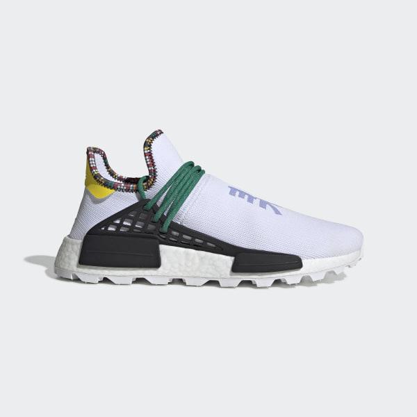 adidas Originals x Pharrell Williams Solar HU NMD White