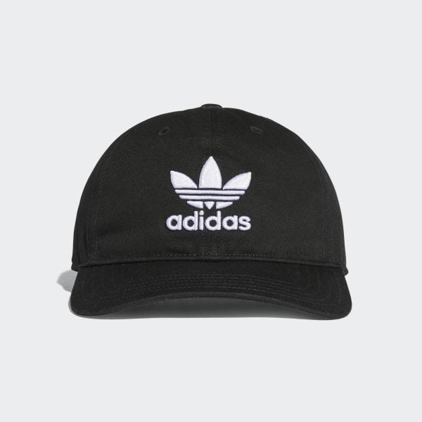 wholesale dealer dcf03 8a5e5 Trefoil Classic Cap Black BK7277