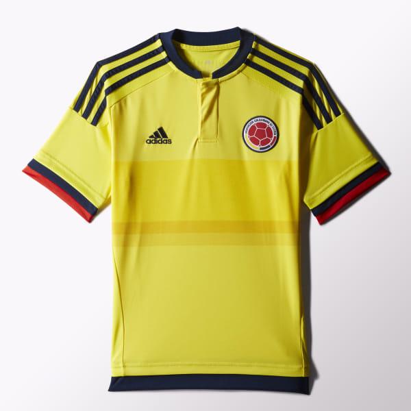 f47374478 adidas Camiseta Selección Colombia Niño Home - Amarillo   adidas .