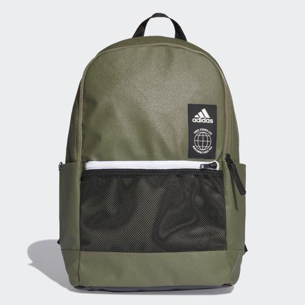61ea20b960b adidas Classic Urban Rugzak - groen | adidas Officiële Shop